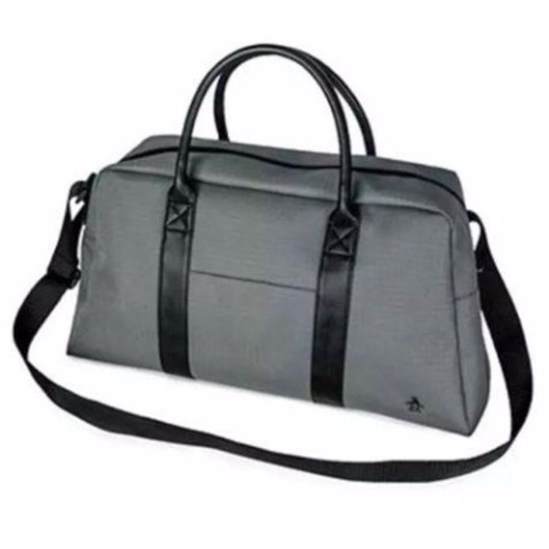 Penguin Men Duffle Weekender Gym Travel Overnight Bag