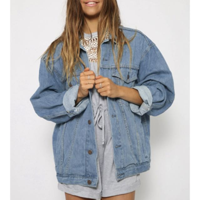 Pepper mayo denim jacket (GREAT CONDITION)