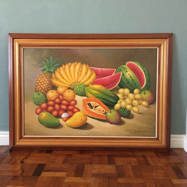 Philippine Fruits Painting