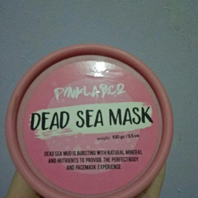 Pink Lab Dead Sea Mask
