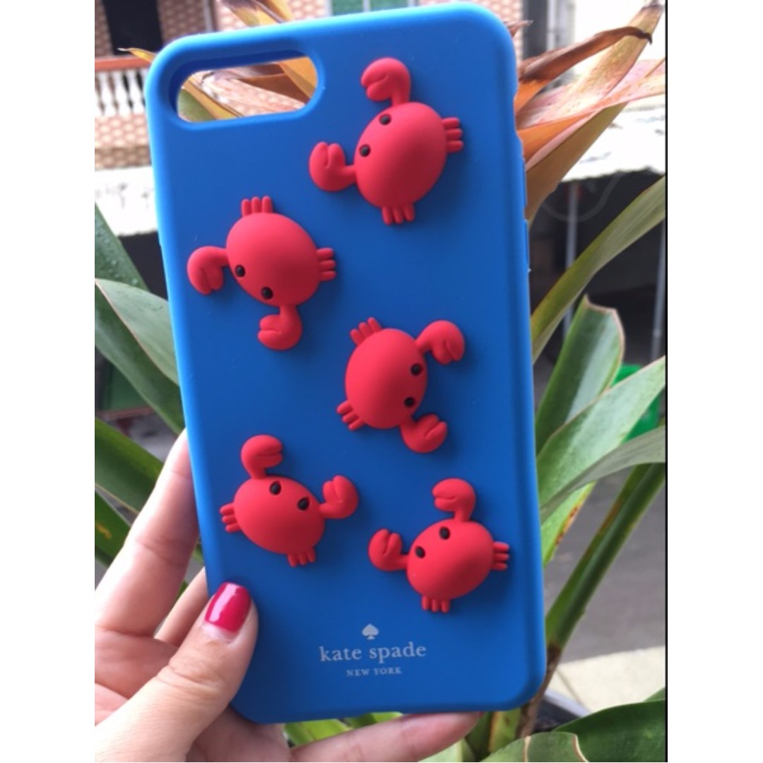 the best attitude 46964 ce658 🎀[PO] Kate Spade Crab iPhone 7+ Phone Case / Casing / Cover