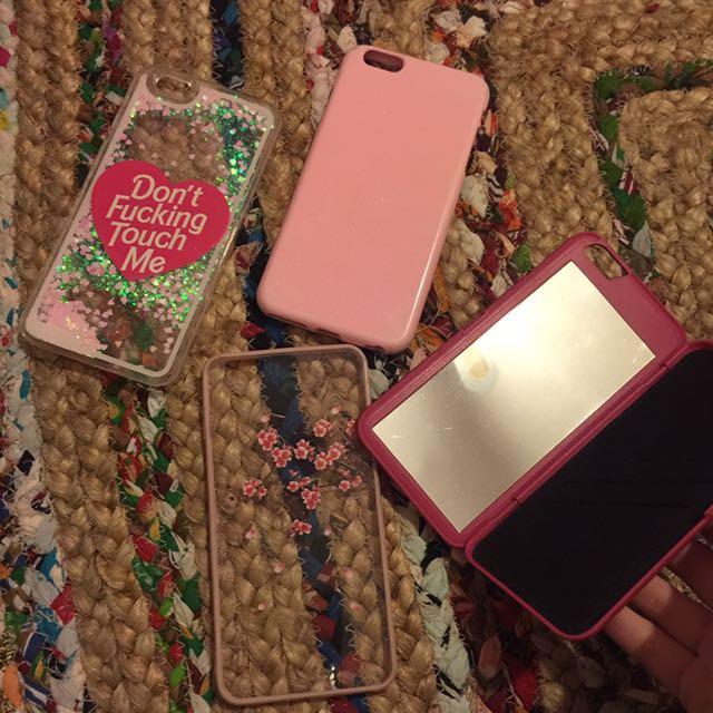 Pretty pink iPhone 6 Plus case