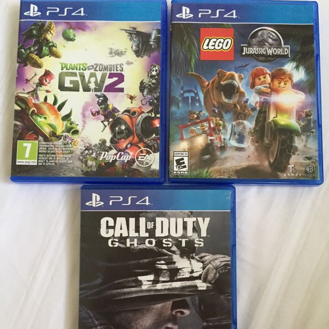 PS4 GW2+Lego+Call Of Duty