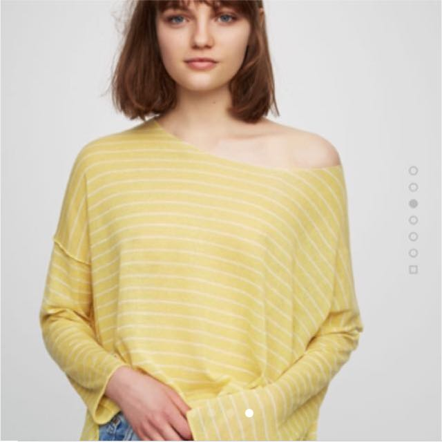 Pull and Bear Basics Sweater with Slits