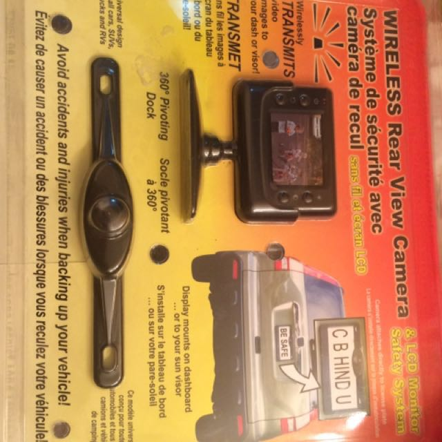 Rear View Camara For car Pick Up Or SUV
