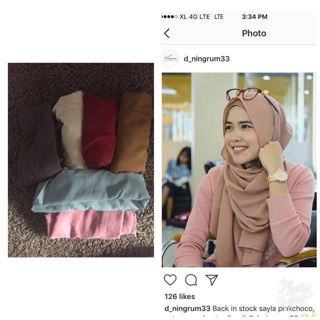(Reprice) Sayla shawl by dningrum