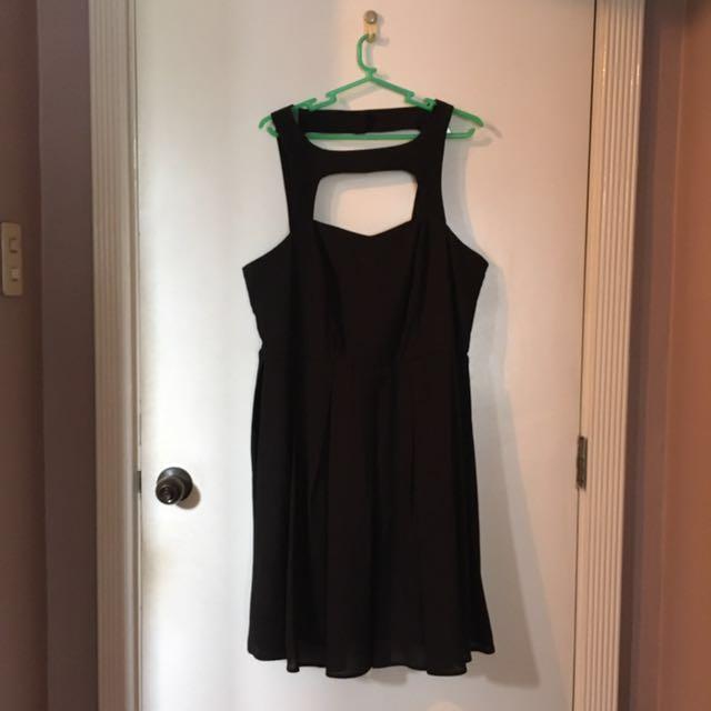 REPRICED Forever 21 Black Cocktail Dress