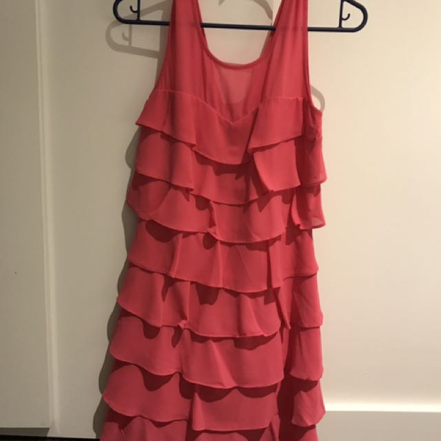 Review pink dress size 6