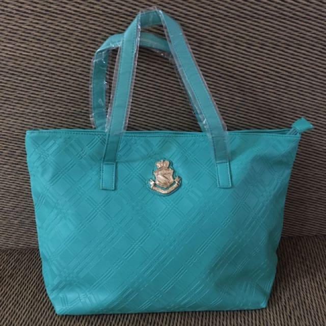 Saffiano PU leather Tote bag