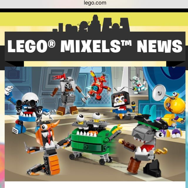 SALE!!! Lego Mixels 35% off