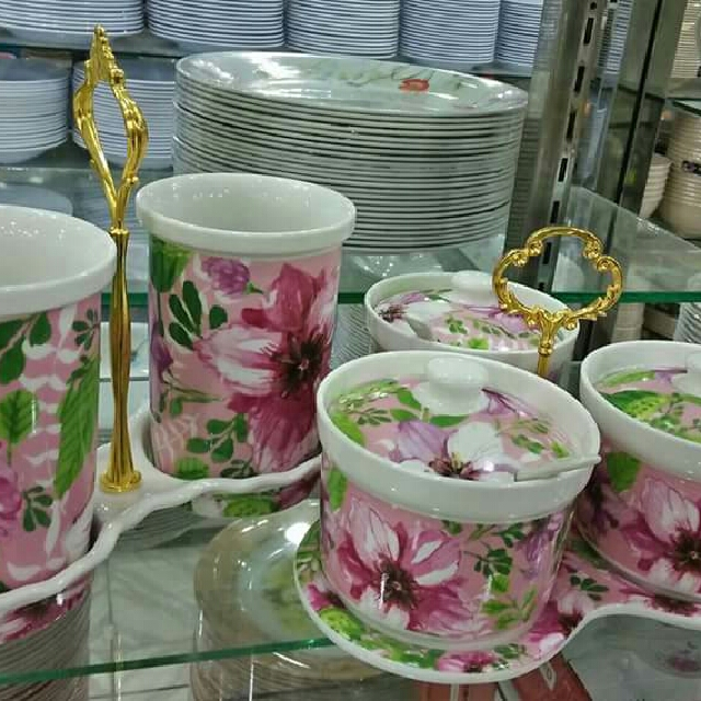 Set bekas sudu dan garam gula comel kitchen appliances for Kitchen set bekas