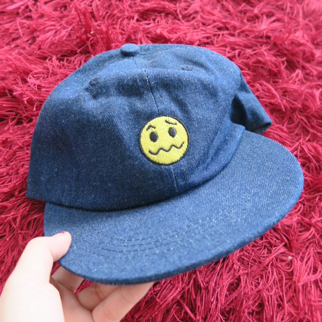 Smiley Jeans Denim Cap