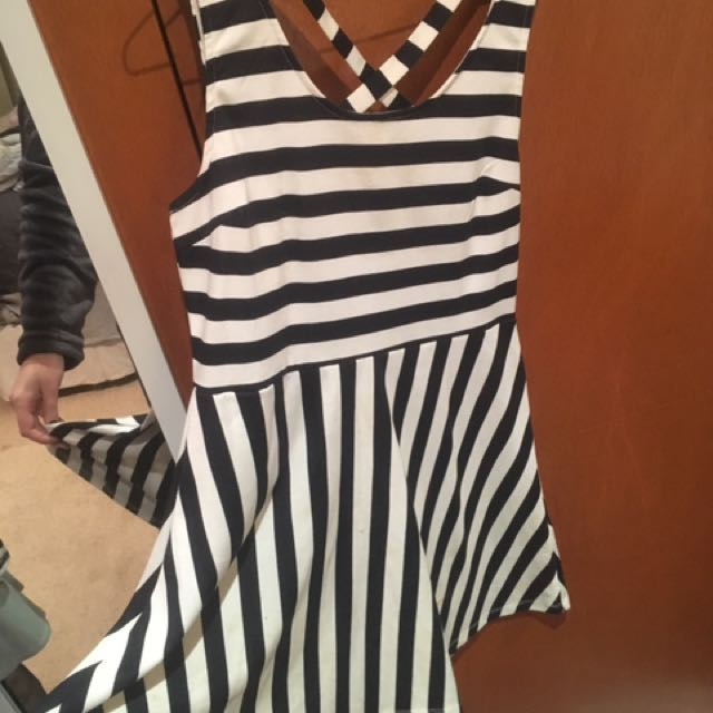 Striped H&M Dress
