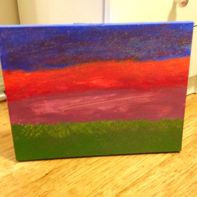 Sunset 🌅 painting *free shipping