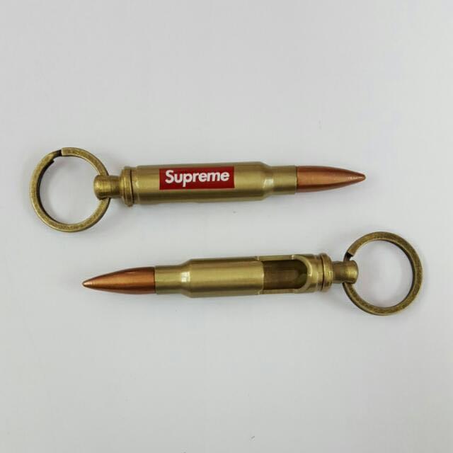 Supreme Bullet Bottle Opener Keychain Men S Fashion Accessories On Carou