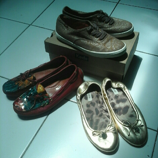 take it all ! keds (sold), alexander mcqueen, guess all original fit to 35/36