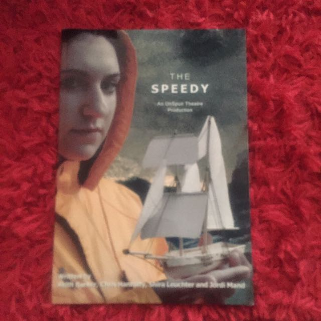 The Speedy: An UnSpun Theatre Production