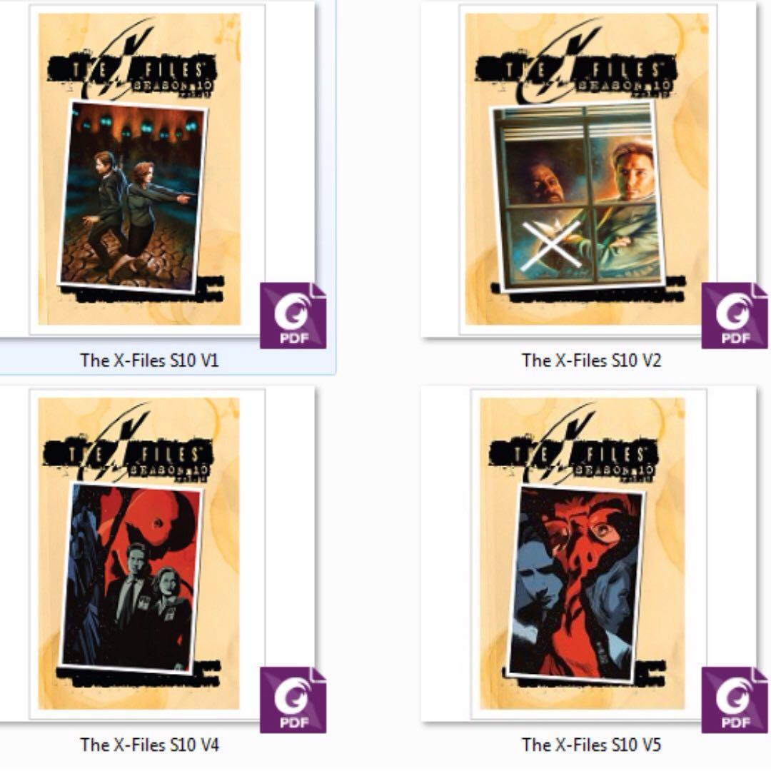 THE X-FILES SEASON 10 VOLUME 1-5