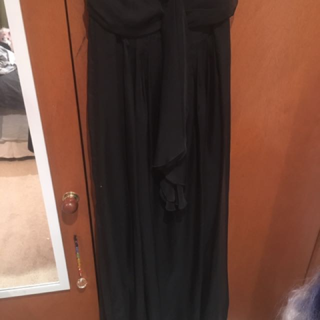 Tokito Black Maxi Dress