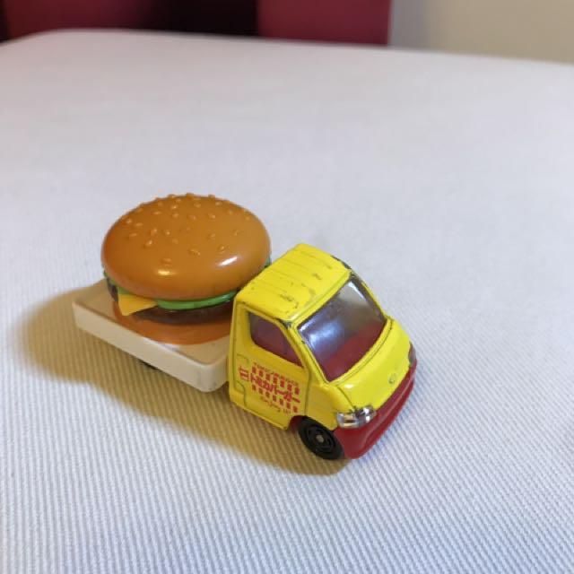 TOMICA 漢堡車