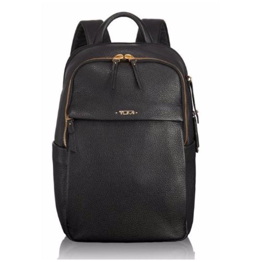 5016fda3d35 Tumi Women's Voyageur Leather Daniella Small Backpack, Black Women's ...