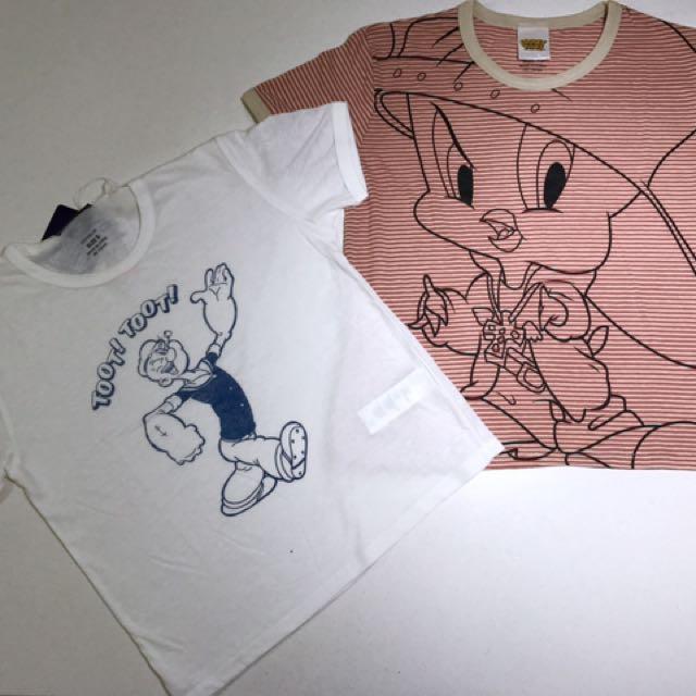 Tweetie Bird/Popeye Cotton On brand