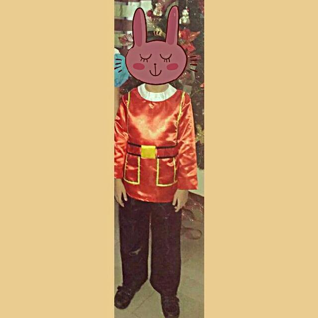 UN England costume for boys 7-9 yrsold
