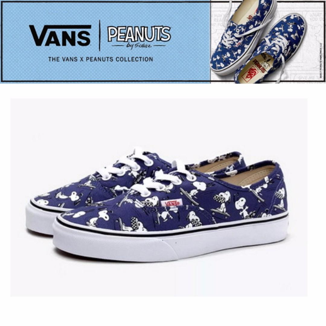 cbbd7248c0 Vans x Peanuts Authentic Snoopy Skating Men Shoe