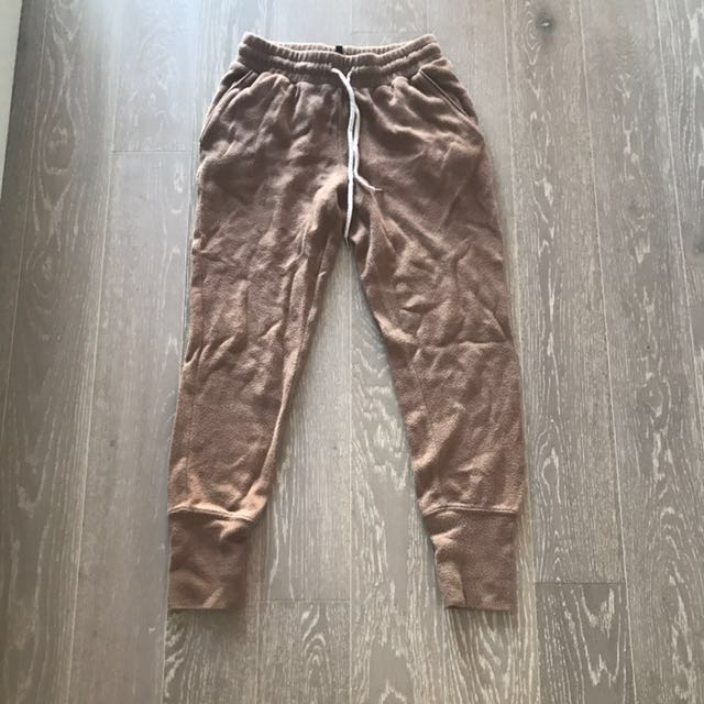 Wilfred Free tan sweatpants