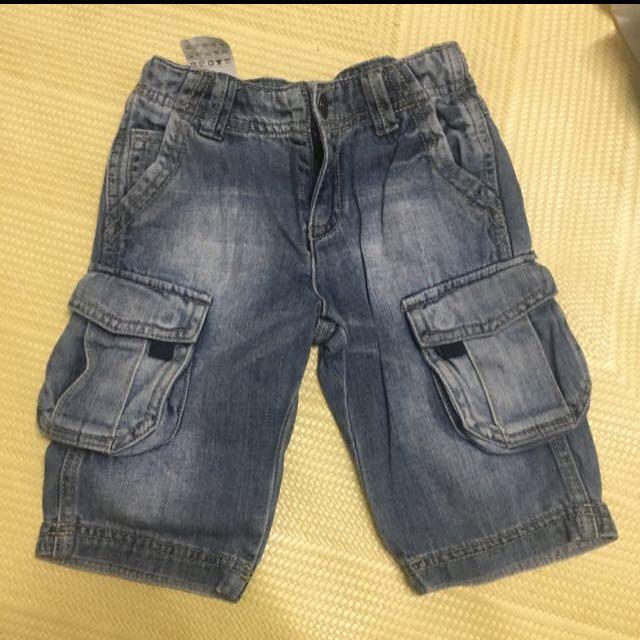 班尼頓男童牛仔褲xxs