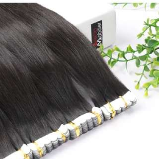 REAL HUMAN HAIR TAPE IN EXTENSIONS PREORDER 😍😍😍😍