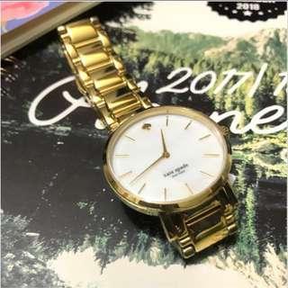 🍀Kate Spade-NY 金色手錶💰