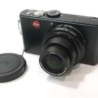 萊卡 Leica D-LUX3 數位相機 /1020萬畫素 / 黑色 /雙電池,相機包