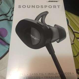 Bose SoundSport 運動藍芽耳機 黑色