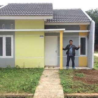 Rumah Murah Subsidi Dekat Cibubur Jakarta Timur Ready Stock 2 Unit, Cicilan Mulai 800'n plat Sampai lunas Dp Ringan Bisa Dicicil 10 bln