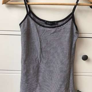 Glassons striped singlet