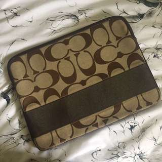 Coach MacBook case