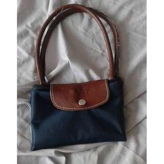 Blue Longchamp Bag