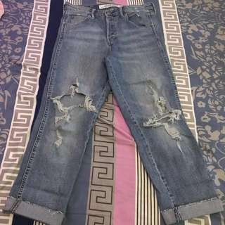 Denim Ripped H&M Grey Collection RE-PRICE
