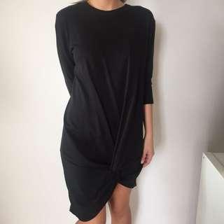 Little Black Zara Dress - medium