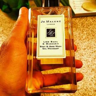 Jo malone body and hand wash gel moussant