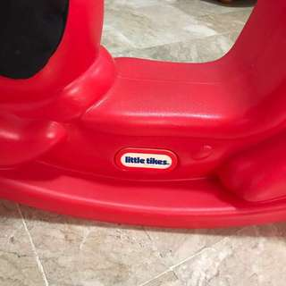 Red Little Tikes Rocking Dog