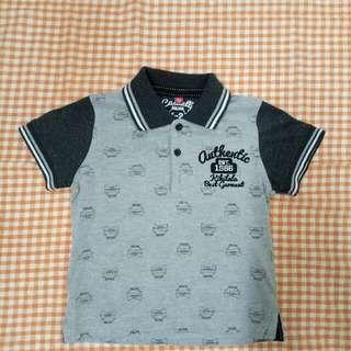 boys collar tshirt