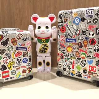 Sticker Waterproof High Quality - Stickerbomb Luggage By Our Customers :)