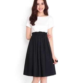 Grace Kelly Dress In Classic Black