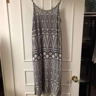 Woman's H&m Dress Spaghetti Strap