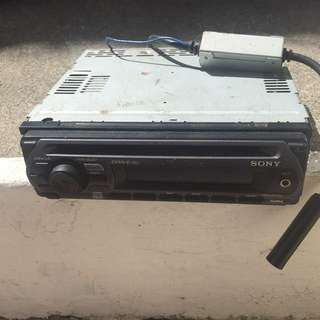 Sony car stereo with band expander