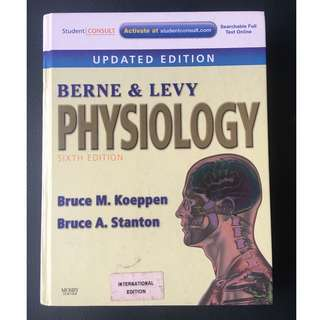 Berne and Levy Physiology 6th Edition