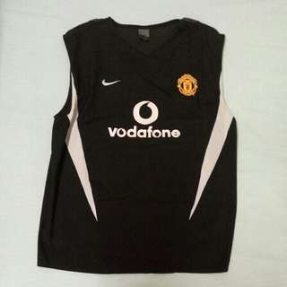Manchester United Authentic Training Sleeveless L