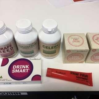 New Vitamins & Creams - sealed
